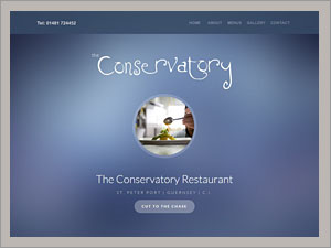 Visit - the Conservatory Restaurant.
